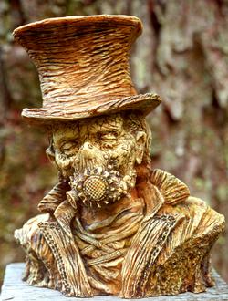 Plague-Cart Leper