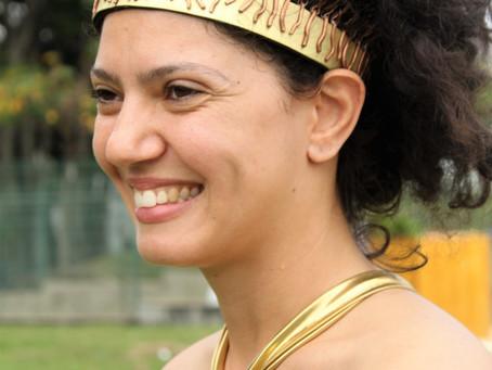 Uma coroa para Deméter - Geraldo Labriola cria peça para rito-manifesto Cora Primavera, da Cia. Nada