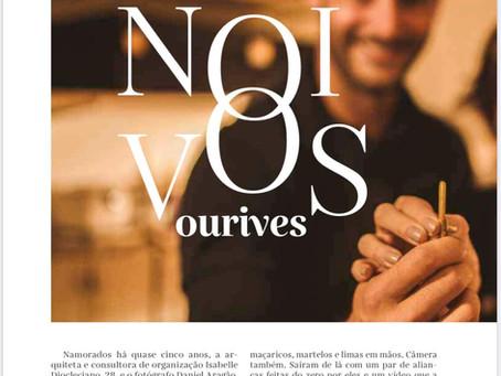 Noivos Ourives na revista Noivas - O Povo