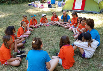 Day Camp Photo & Patch