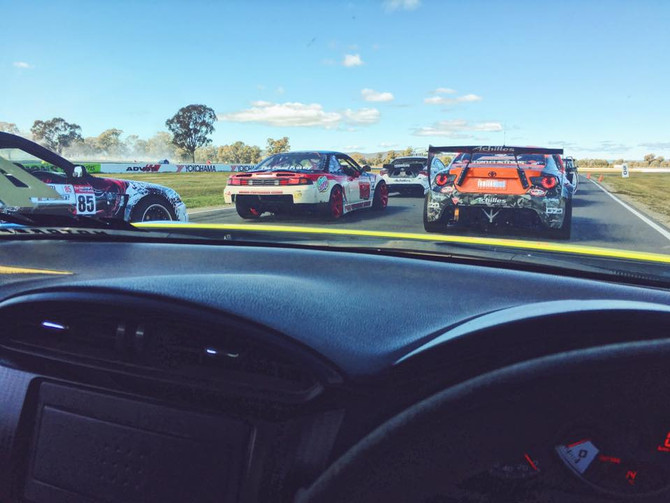 Hanging out with Australia's Best Drifters for the day!