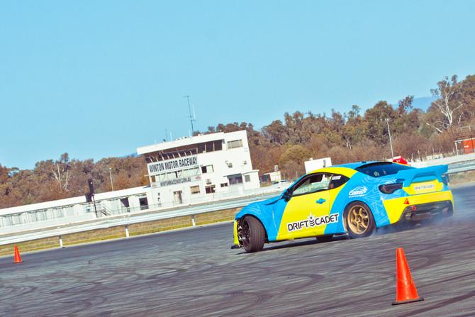 Testing at Winton Raceway