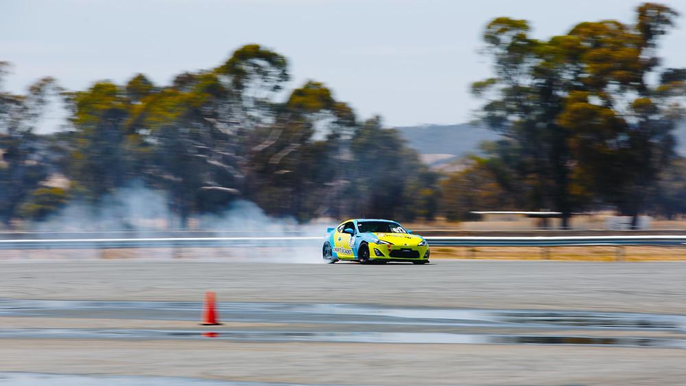 Drift Cadet Toyota 86 Wintom Raceway