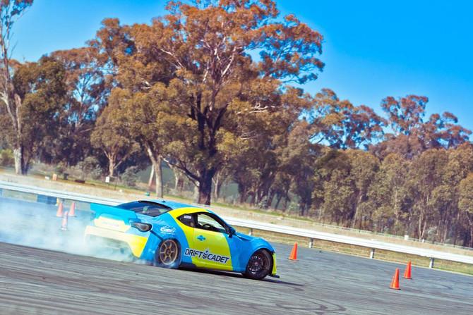 Killing tyres at SUCC Drift Day