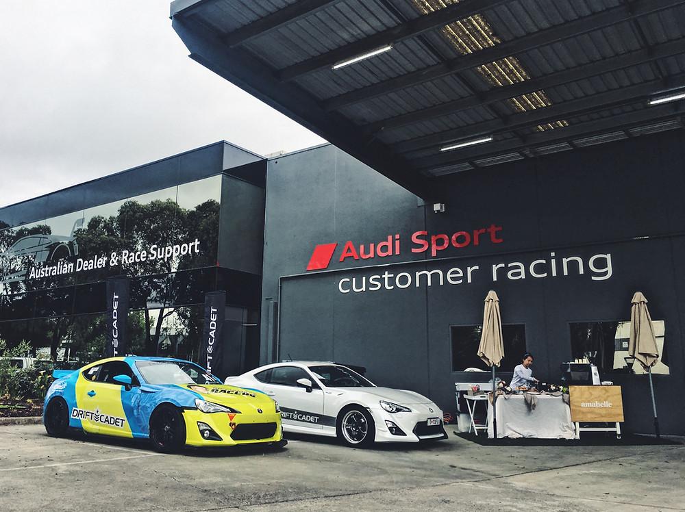 Drift Cadet toyota 86 Audi Sport Customer Racing