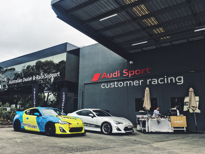 AUDI Customer Racing & MPC Open day!
