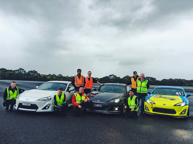 Drift Cadet hangs out with Bosch Motorsport at AARC