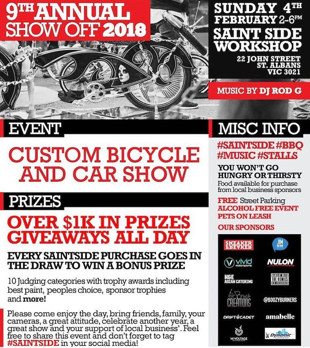 Saint Side 9th Annual Show