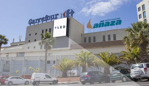 Pantalla Led Exterior C.C Carrefour Añaza