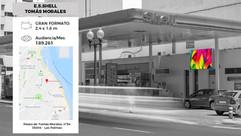 Pantalla Led E.S Shell Tomás Morales