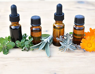 essential-oil-brown-bottles-with-fresh-h