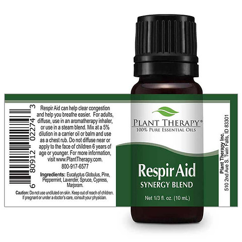 Respir Aid Essential Oil Synergy Blend