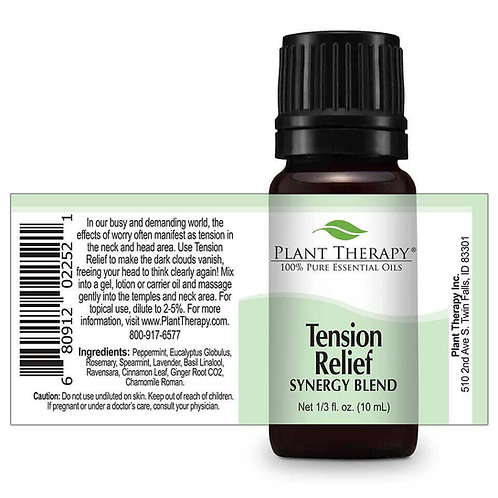 Tension Relief Essential Oil Synergy