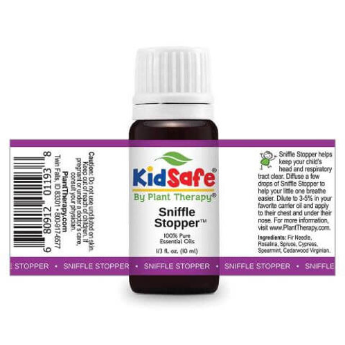 Sniffle Stopper KidSafe Essential Oil Plant Therapy