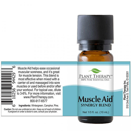 Muscle Aid Essential Oil Synergy