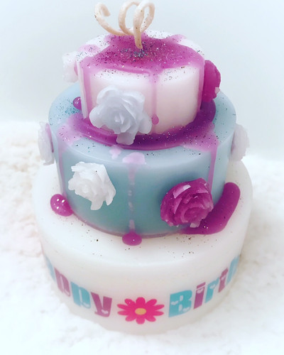 Custom Tiered Cake Candle Contemporary