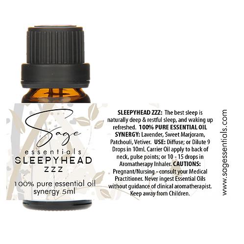 Sleepyhead Zzz Essential Oil Synergy Blend