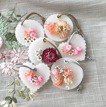 Scented Flower Pendants
