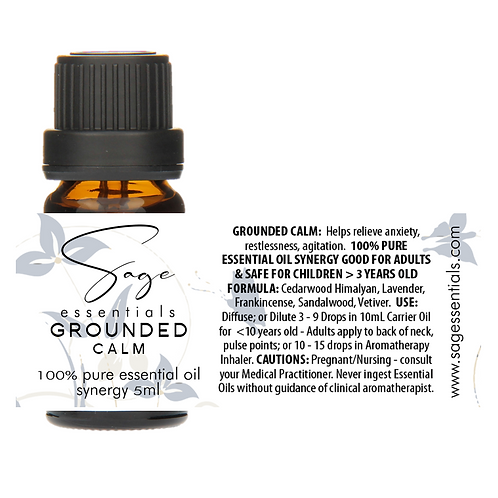 Grounded Calm Essential Oil Synergy Blend