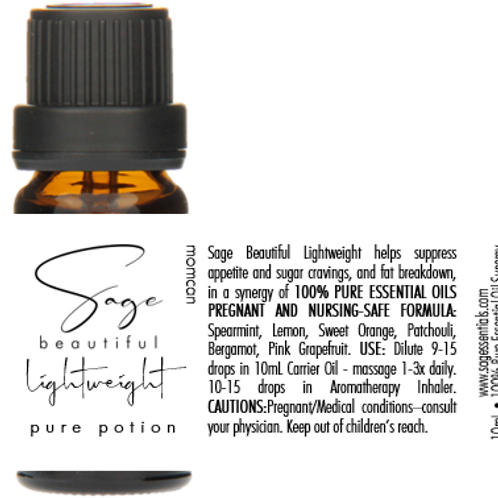 Lightweight Essential Oil Synergy Blend