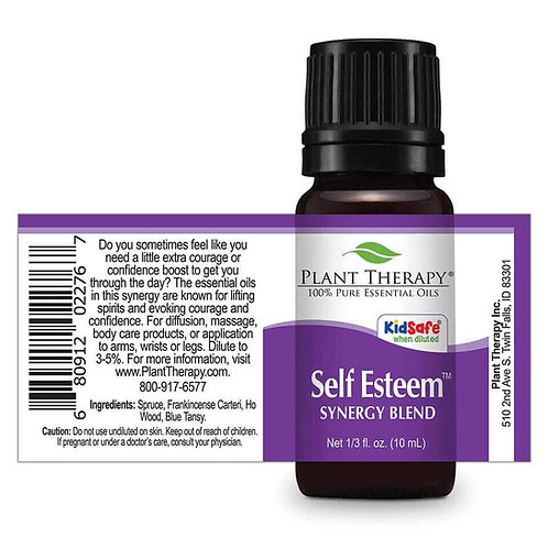 Self Esteem Essential Oil Synergy