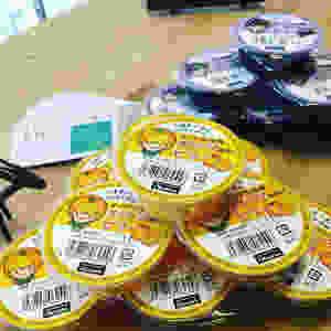 オーサワの有機オレンジ使用のゼリー|有機ぶどう使用のゼリー