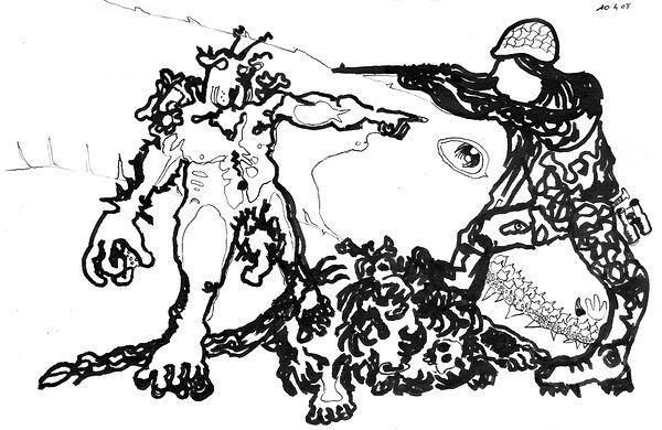 MiguelMarajo-BronzeTresor-Encre-210x135-