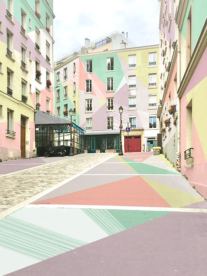 Rue Clavel - Jeanne Varaldi
