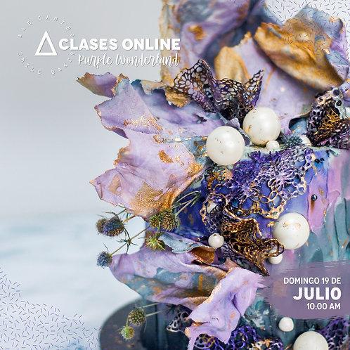 Grabación MASTER CLASS - Purple Wonderland