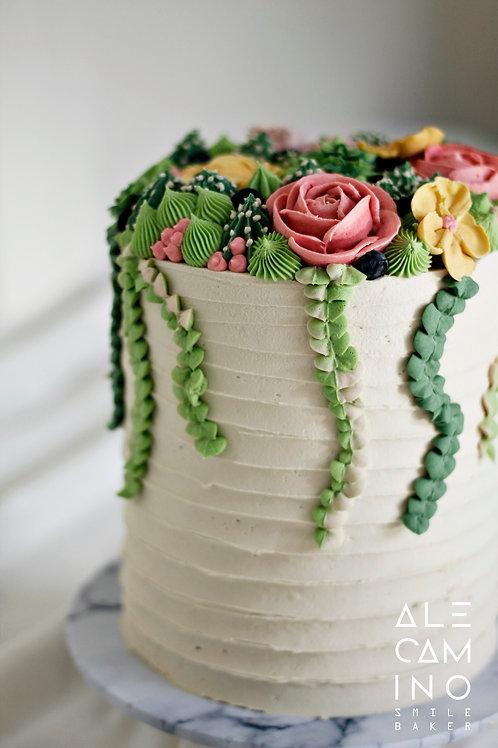 Suculentas pastel