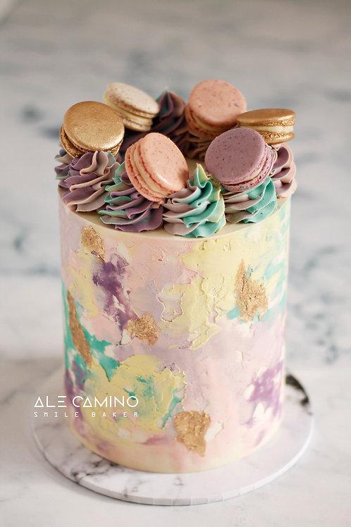Acuarela Pastel & Macarons