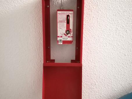 Produit | Coffret de Protection pour Treuil de Désenfumage MADICOB