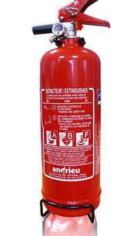 Produit | Extincteur 2L eau + additif ABF