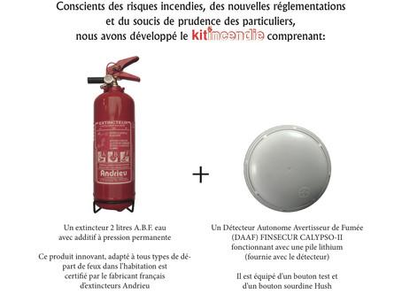 Produit   Kit Incendie Habitation