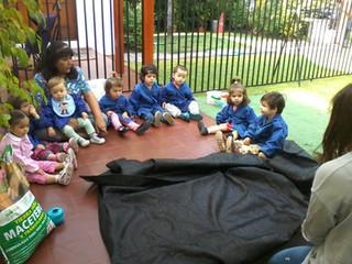 PRÁCTICAS AL AIRE LIBRE EN LOS JARDINES INFANTILES