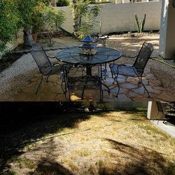 another  project completed...much needed rehab  on this backyard..