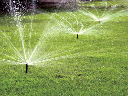 water efficeint sprinklers