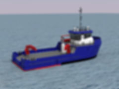 24m Aquaculture Support Vessel Render 2