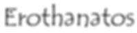 logo erothanatos
