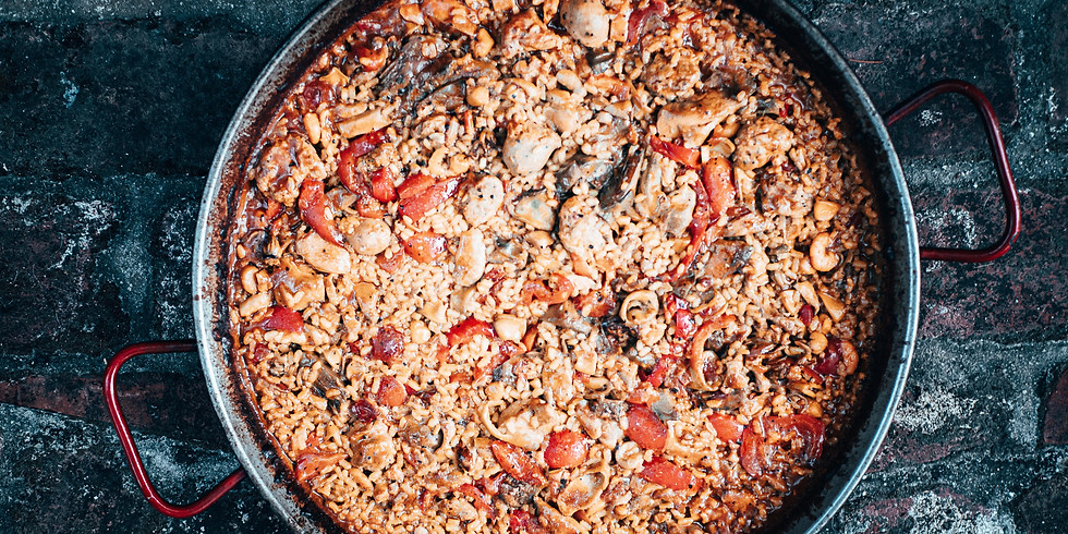 Paella Making event - Learn How