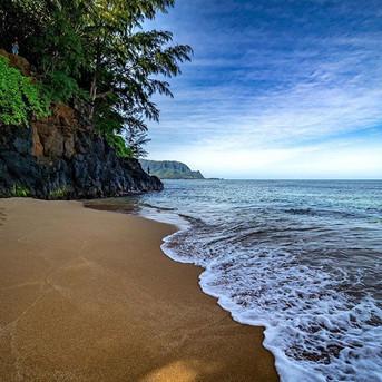 Hideaways beach in Kauai