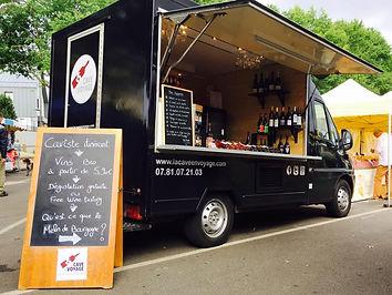 Wine Truck La Caveen Voyage