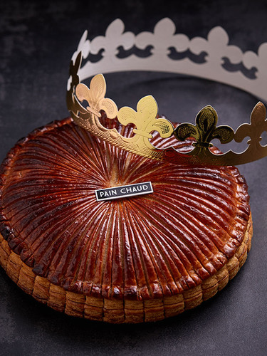 """King's Pie In France, on January 6th every year (the Epiphany: a festival to celebrate the birth of Jesus), The King's pies are displayed in the bakery shop windows. """"Galette des Rois"""", French for King's Pie is traditionally sold in most bakeries during the month of January."""