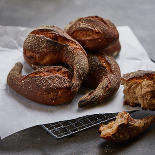 """Mini Fig and Red Wine Bread  You have probably tasted the """"big brother version"""" of the mini baguette and the mini fig and red wine bread but never actually tried the mini version."""