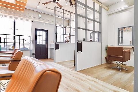 美容室・美容院・理容室・サロンの店舗デザイン、設計施工、内装・外装工事はお任せください。大阪・京都・奈良・神戸・兵庫・名古屋・東京