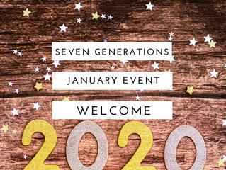 1月のセブンジェネレーションズ ♡関連イベント