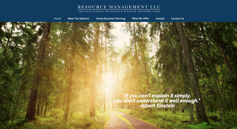 Resource Management, LLC Website Design