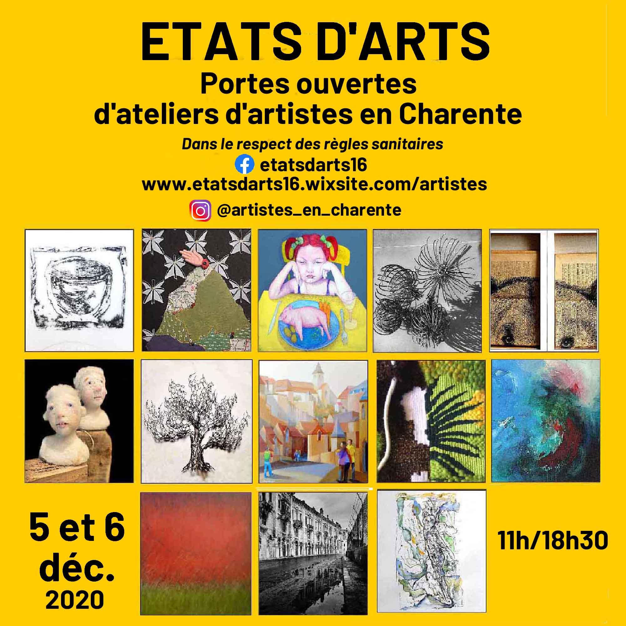 ETATS D'ARTS 2020
