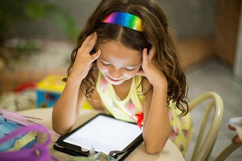 Enfant - écran monture optique