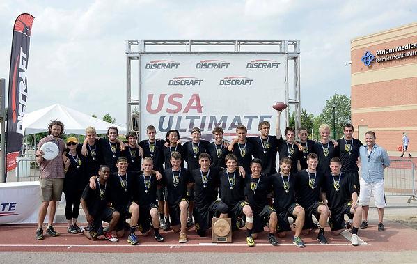 2014 USAU College Championsip Colorado Mamabird